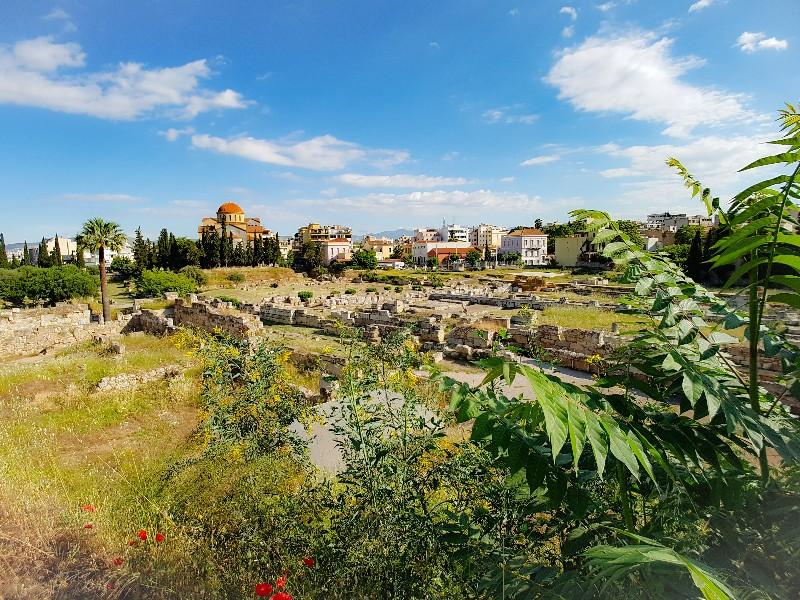 Kerameikos Athene Griekeland