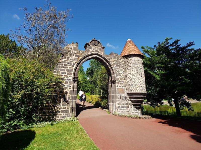 Park Jardin Lecoq Clermont Ferrand Frankrijk