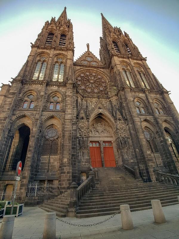 Kathedraal Clermont Ferrand Frankrijk Notre Dame de L'assumption