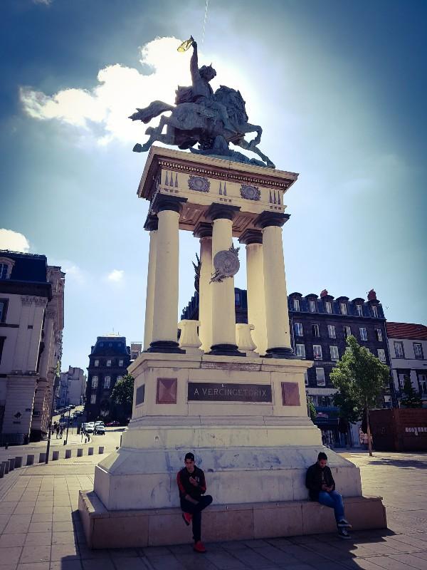 Place Jaude Clermont Ferrand Frankrijk