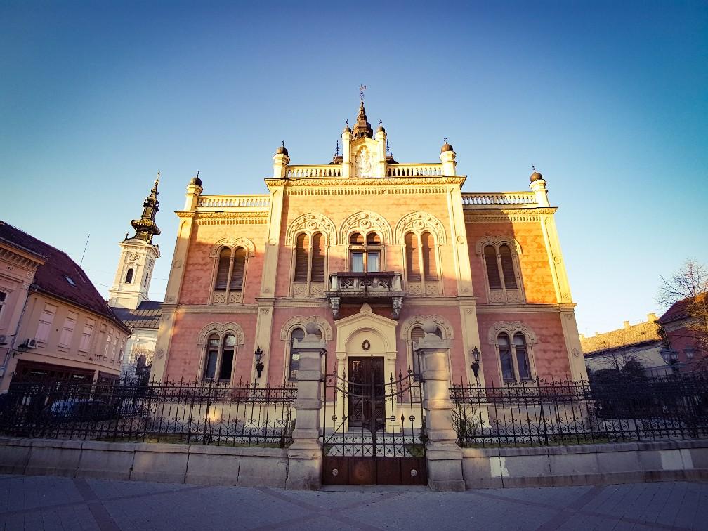 Bishop's palace Novi Sad Servië orthodoxe kerk