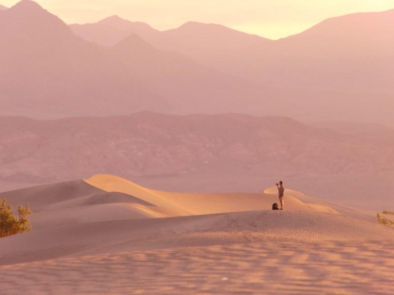 Zonsopkomst Death Valley rondreis Amerika
