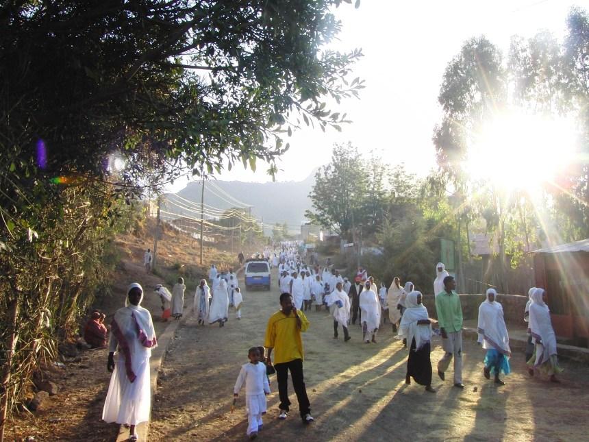 klederdracht Ethiopië