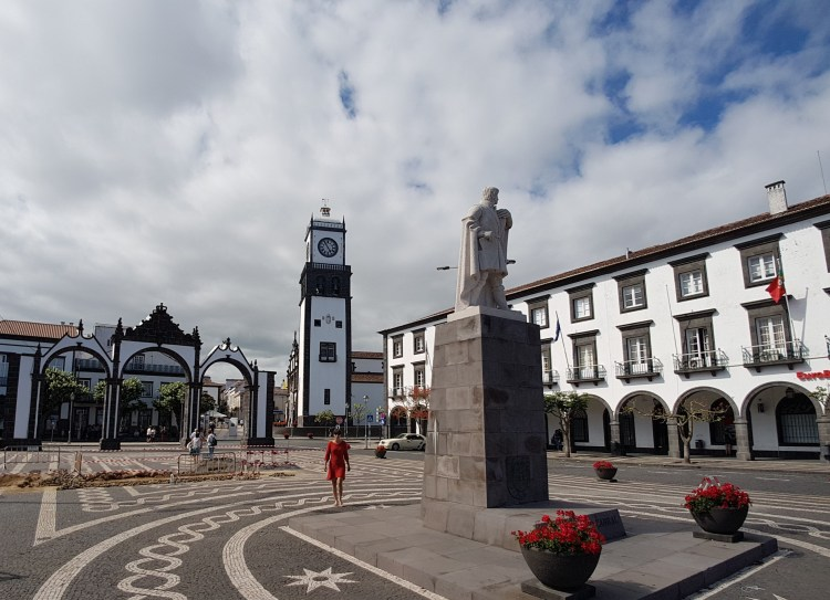 Ponta Delgada Azoren Sao Miguel Portugal (2)