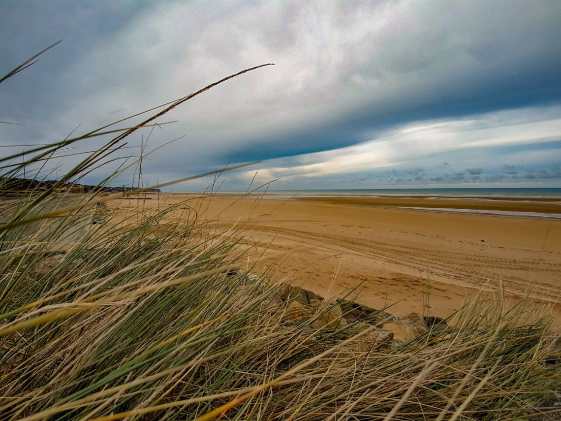 Stranden Normandië Frankrijk
