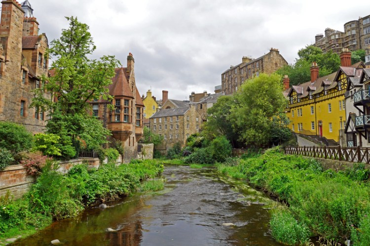 Leith Edinburg Schotland