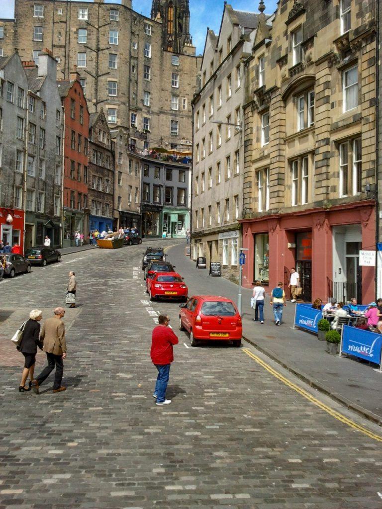 Victoria Street Edingburg Engeland Schotland
