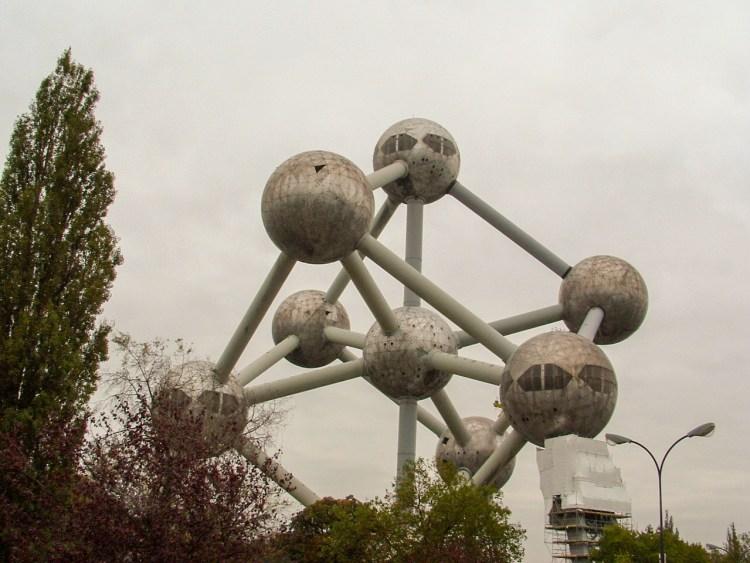 Atomium Brussel België