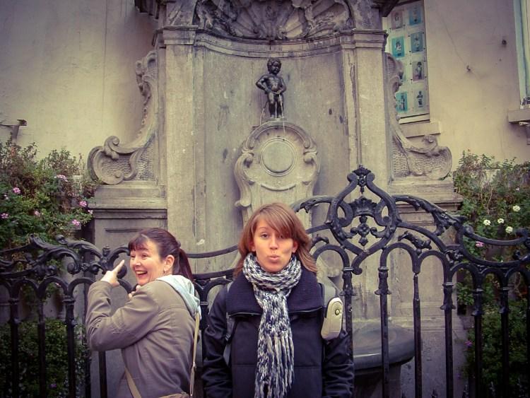 Manneken Pis Brussel België