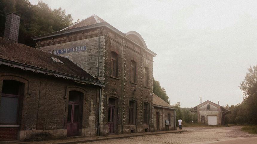 St Hubert Belgische Ardennen oude treinstation
