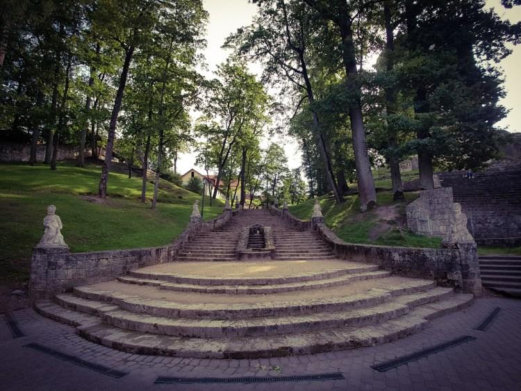Cesis Turaida en Krimulda kasteel Letland