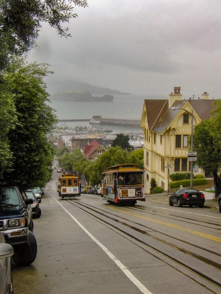 Kabeltrein San Francisco USA
