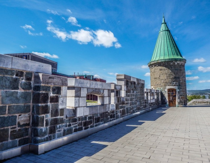 quebec city fortifications