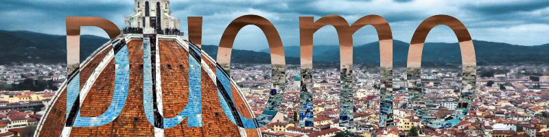 florence italy duomo banner