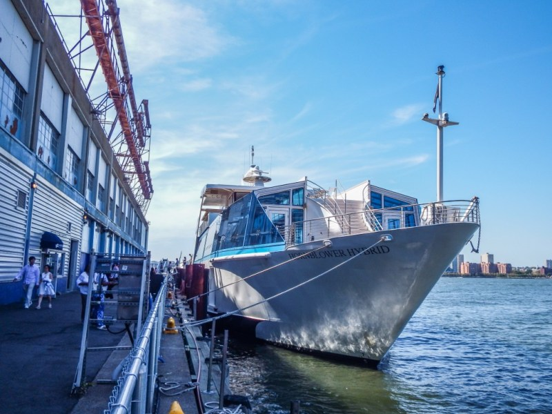 Hornblower New York Hybrid Yacht