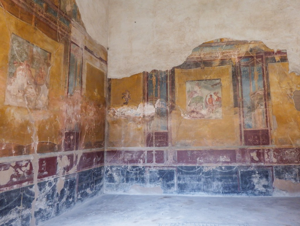 Ruins of pompeii in southern italy