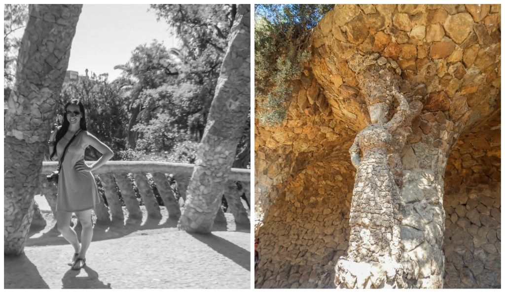Antoni Gaudí's Park Güell in Barcelona, Spain