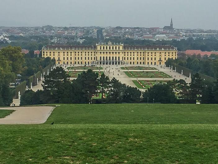Schönnbrunn Palace in Vienna, Austria