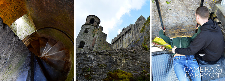 Blarney Castle and kissing the Blarney Stone while exploring Ireland