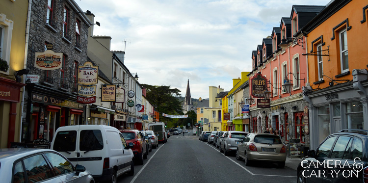 The streets of Ireland