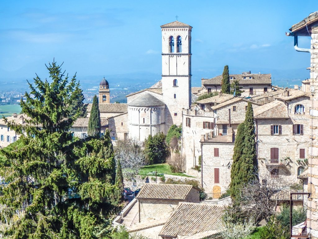 Exploring this small, medieval Umbrian town during a day trip to Assisi, Italy