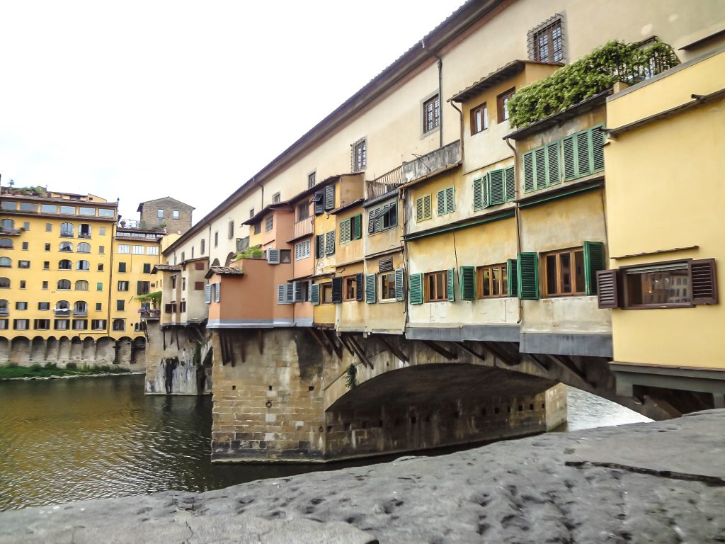 Checking out Ponte Vecchio during 2 days in Florence, Italy