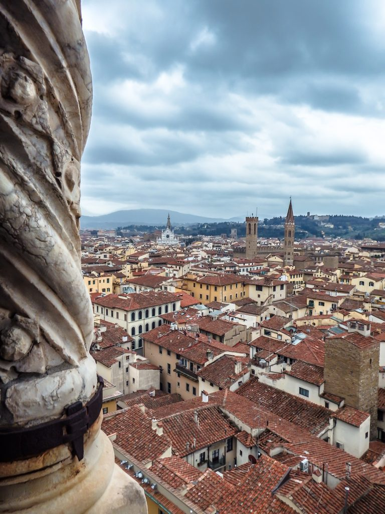 Day two of 2 days in Florence, Italy // Climbing the bell tower, Giotto's Campanile
