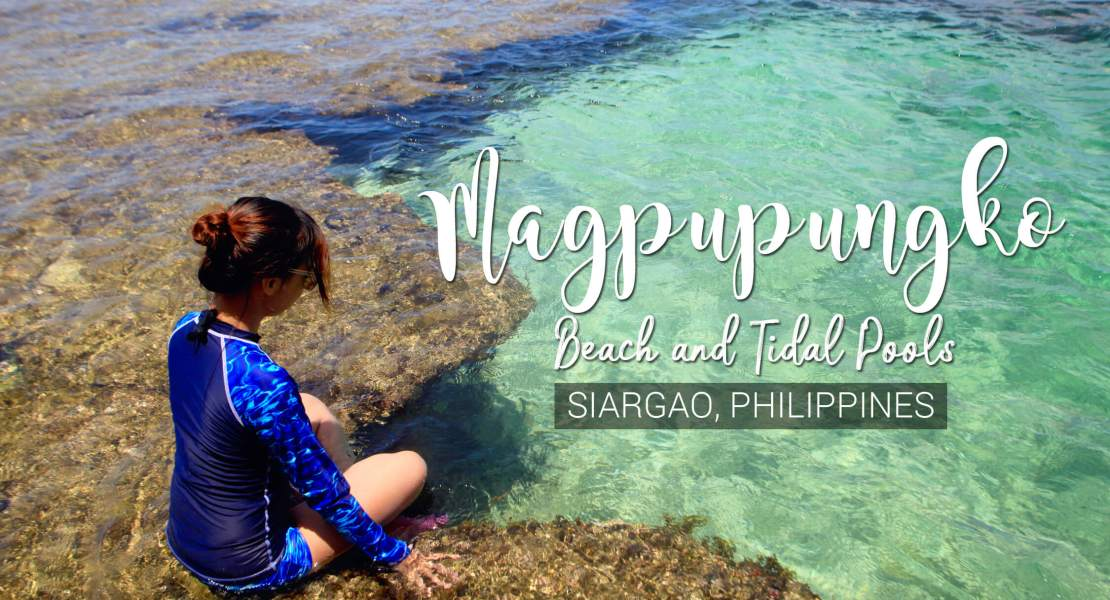Magpupungko Beach and Tidal Pools in Siargao