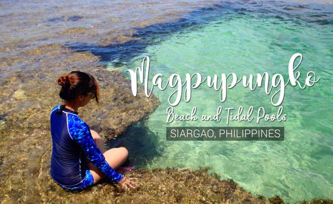 Magpupungko Beach and Tidal Pools in Siargao