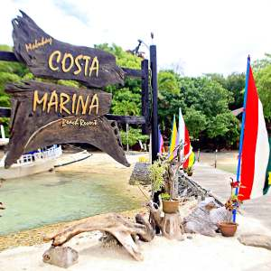 costa marina beach resort in samal