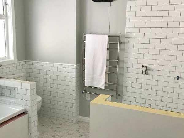 Bathroom Tile Reveal