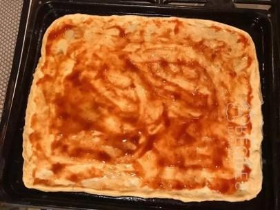 томатная паста на тесте