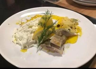 сельдь в белом соусе