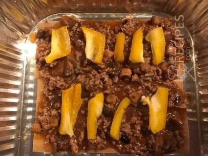 мясная лазанья с перцем