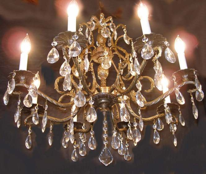 How To Clean Brass Chandelier