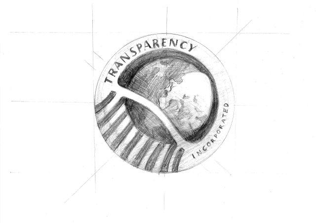 Transparency Logo Sketch