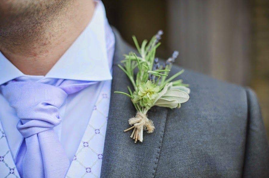 prendido novio boda