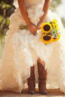 Botas para novia