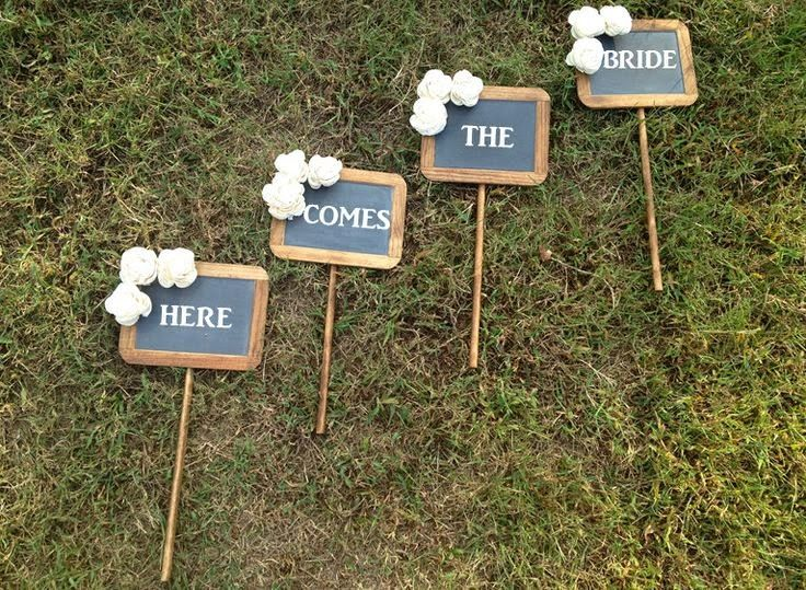 decorar boda con pizarras