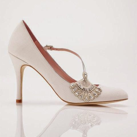 zapatos de novia vintage