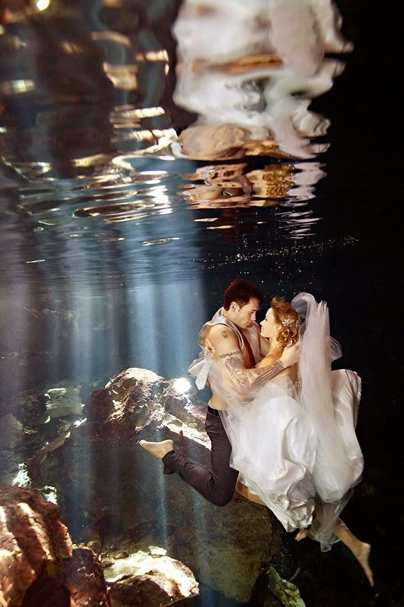 ¿Os atrevéis con un Trash the Dress?