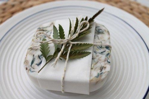 Como hacer jabon para regalar boda