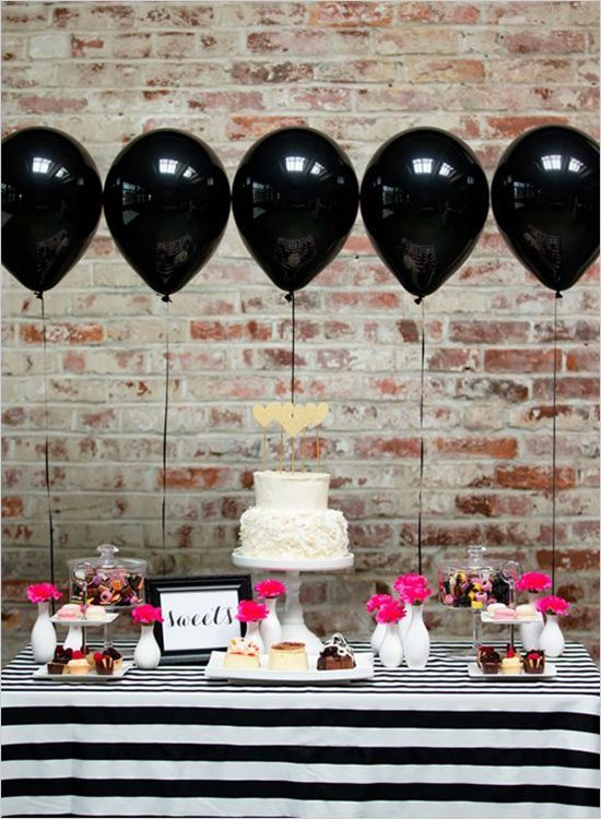 decorar boda globos