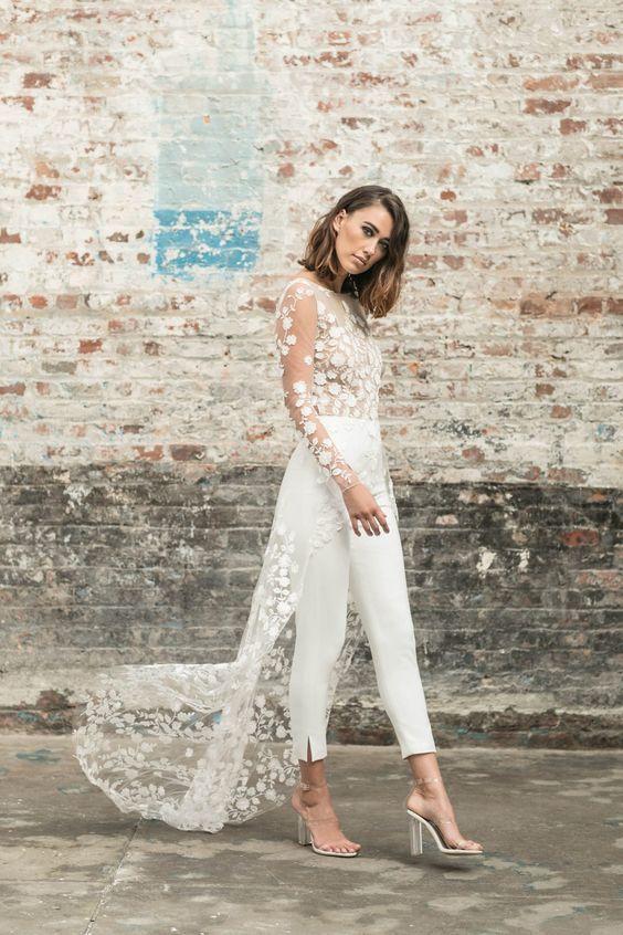 Pantalones para novia Rime Arodaky