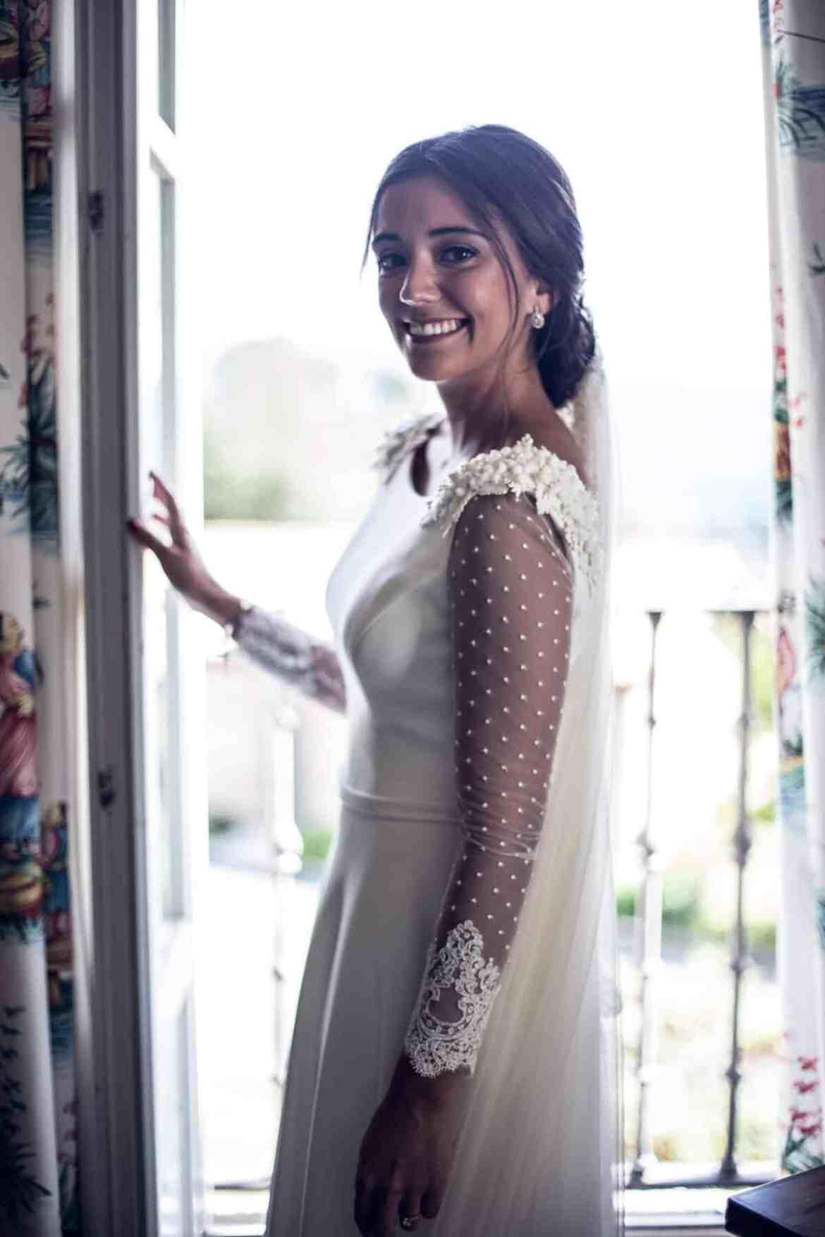 Vestido novia Plumeti Valenzuela Atelier