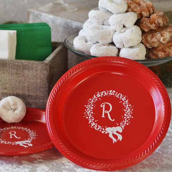 Christmas Plastic Tableware