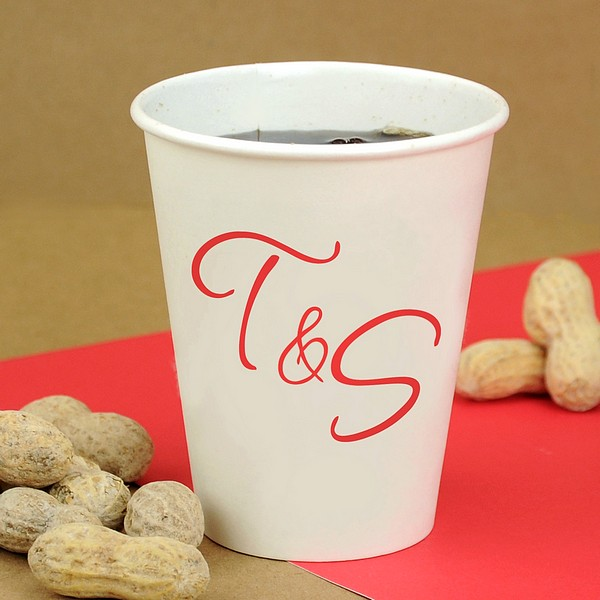 Paper Cups 8 Oz Personalized My Wedding Reception Ideas