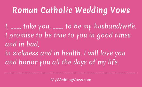 How To Write Original Wedding Vows