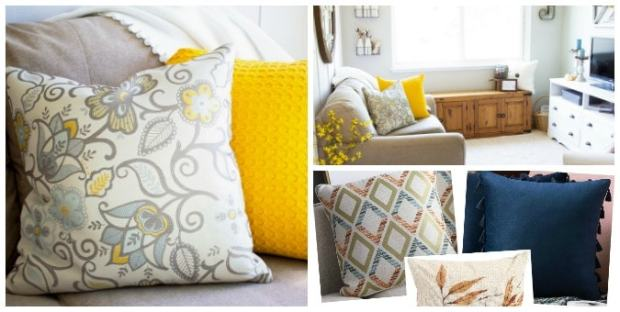 tuesday turn about 20 quick fall projects pillows sets in living room