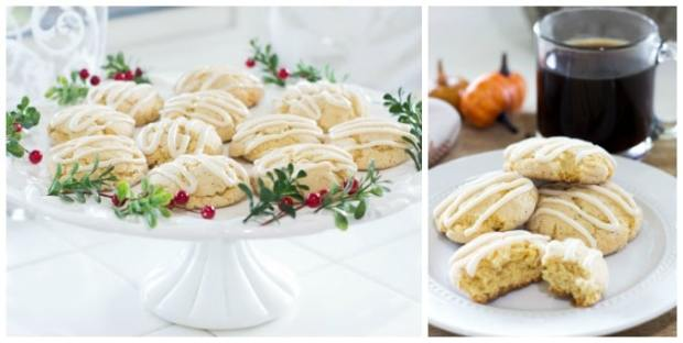 uesday turn about cake plate with cookies and cookies on white plate with coffee